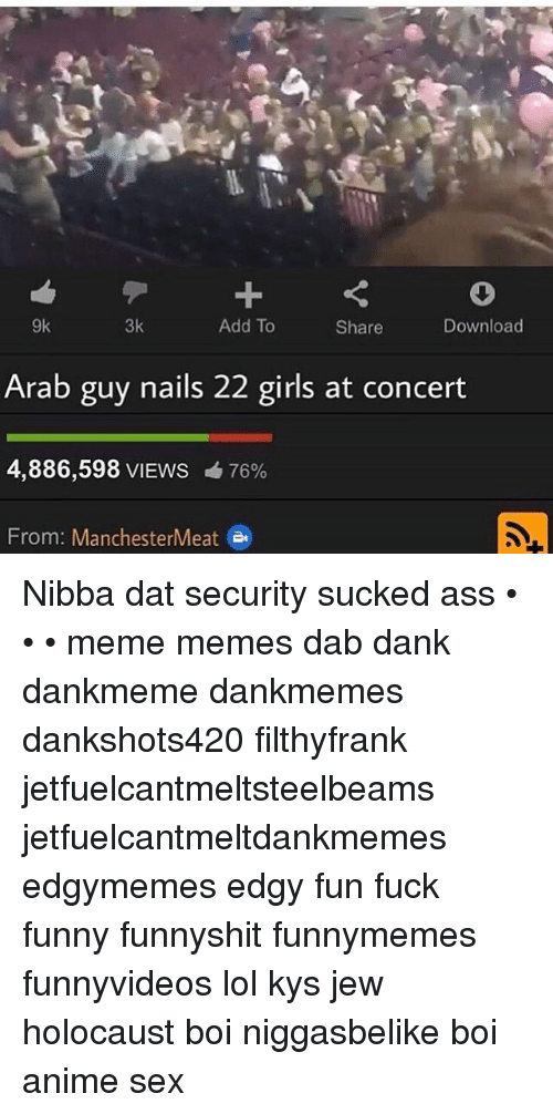 Anime, Ass, and Dank: 3k 9k Add To Download Share Arab guy nails