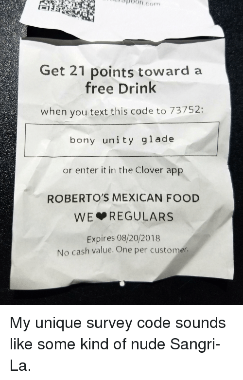 3p6oncom Get 21 Points Toward a Free Drink When You Text