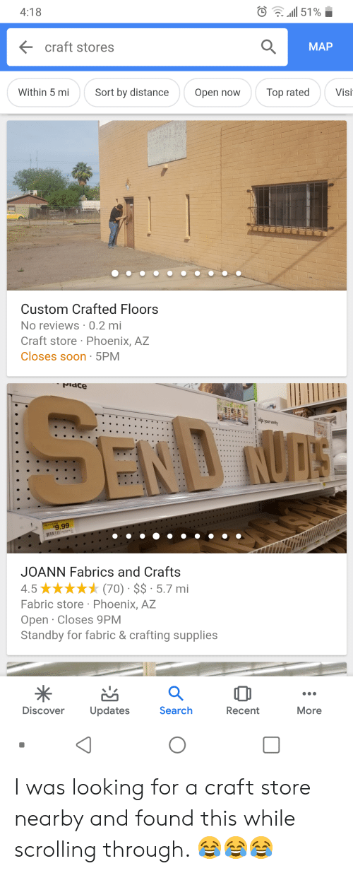 418 11 51 Craft Stores Map Within 5 Mi Sort By Distanceopen Now