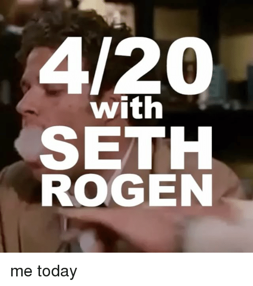 Bailey Jay, Seth Rogen, and Today: 4/200  with  SETH  ROGEN me today