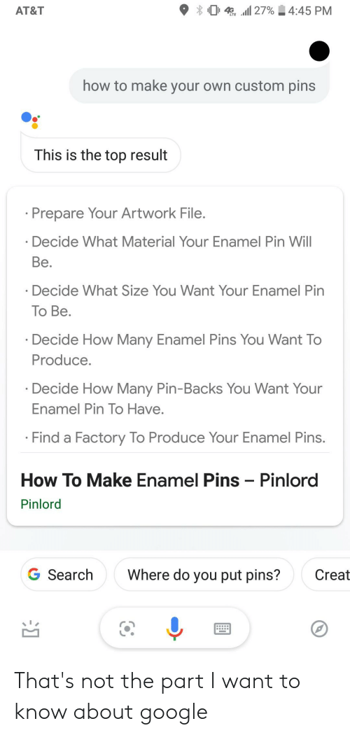 4 27%445 PM AT&T How to Make Your Own Custom Pins This Is