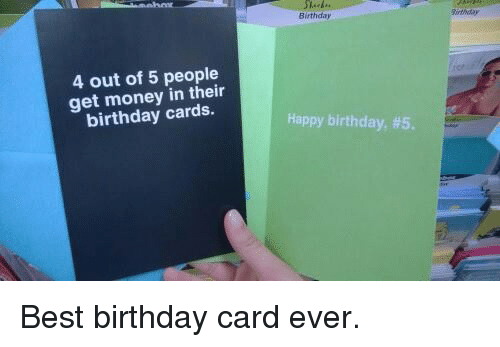 25 Best Memes About Birthday Card – Best Happy Birthday Card Ever