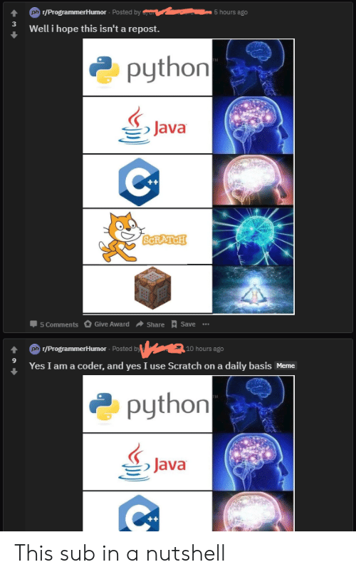 7ffb5642e8 4 P rProgrammerHumor Posted by Well I Hope This Isn t a Repost 5 ...