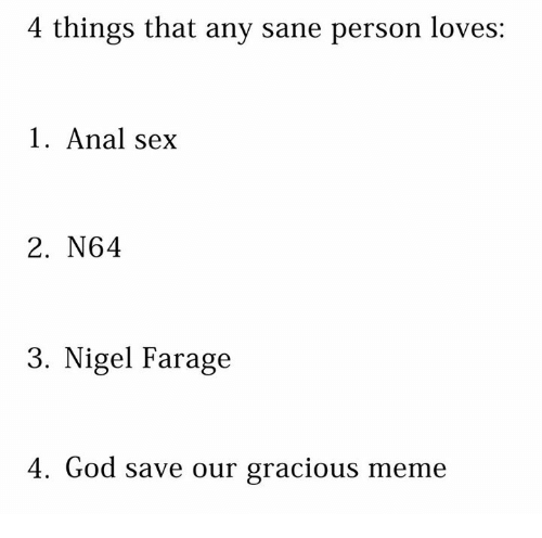 Any anal sex