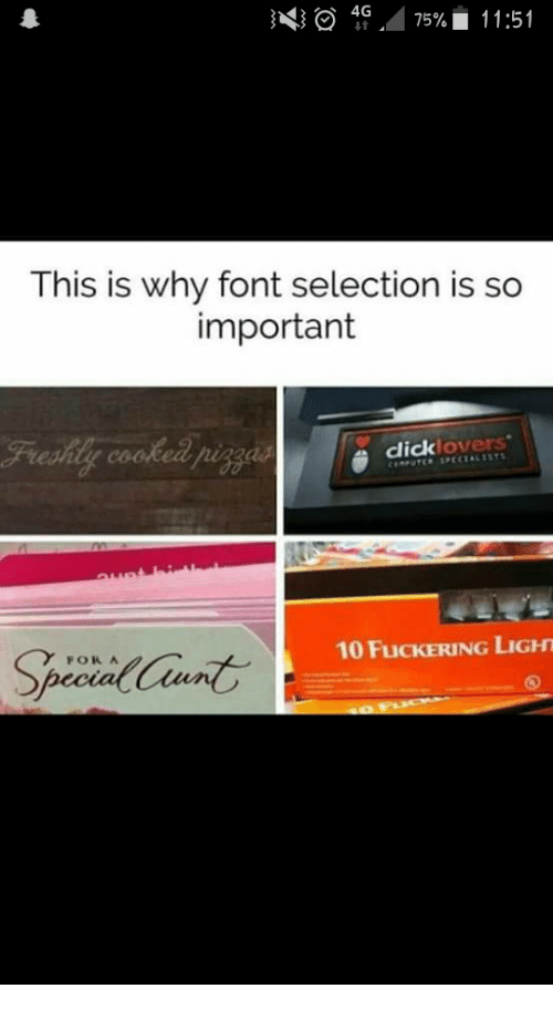 4 This Is Why Font Selection Is So Important Clicklovers FOR a 10