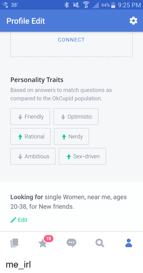Okcupid personality traits