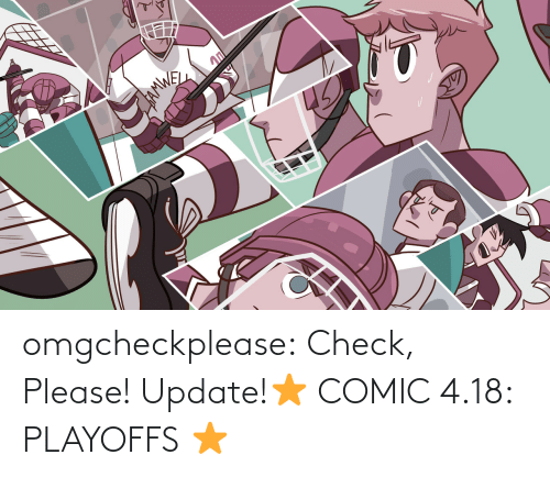 Target, Tumblr, and Blog: 45 omgcheckplease:  Check, Please! Update!⭐ COMIC 4.18: PLAYOFFS ⭐