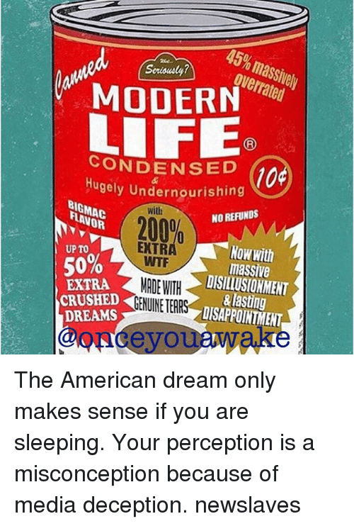 """living the american dream the self made The american dream is alive and well—in northern europe  for people to do  that and to make a good living for themselves and their families""""  on their  circumstances, the opposite of being a self-made woman or man."""