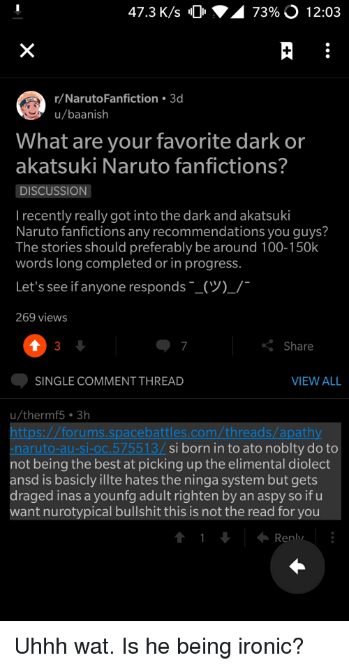 Q Sasuke Is Gay for Naruto Fanfiction What the Fuck Did You