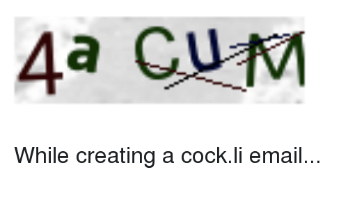 Email cock photo