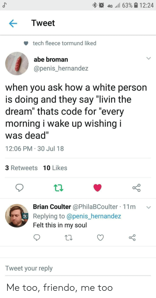 """Penis, White, and How: 4G 63%