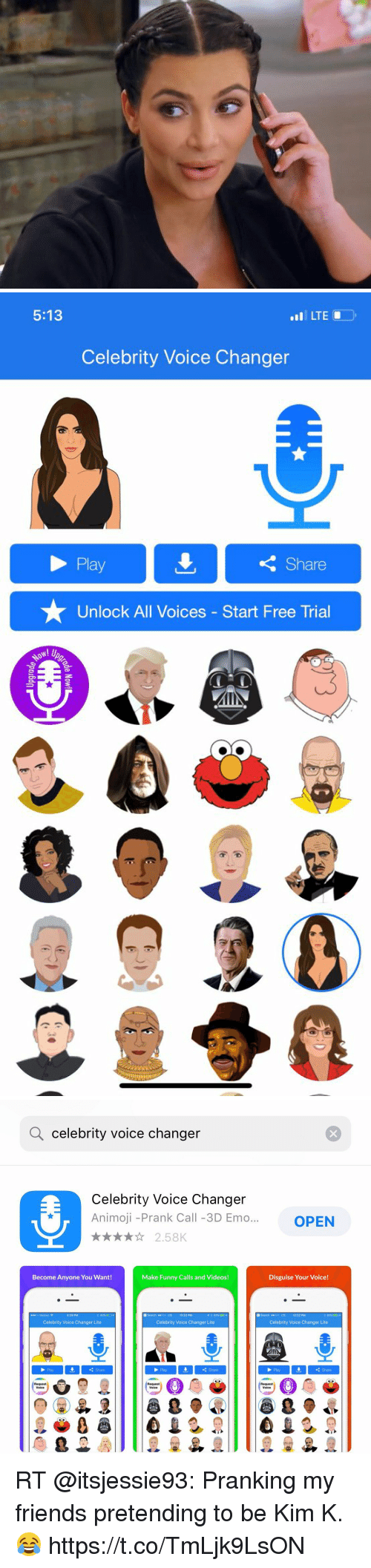 All celebrity voices