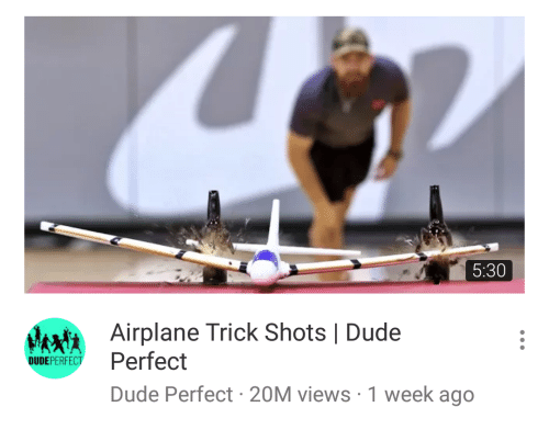 how to make a perfect airplane