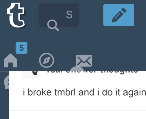 Do It Again, Do It, and Broke: 5  i broke tmbrl and i do it again