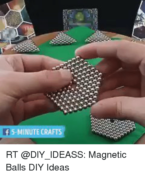 5 Minute Crafts Rt Magnetic Balls Diy Ideas Meme On Me Me