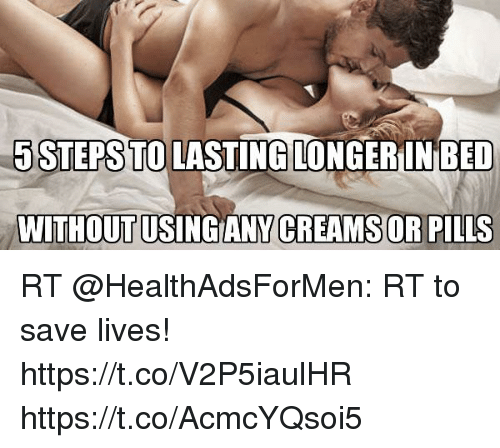 Pills to help you last longer in bed