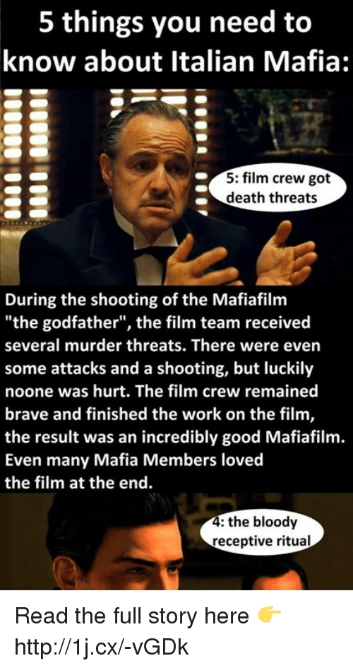 5 things you need to know about italian mafia 5 5256480 5 things you need to know about italian mafia 5 film crew got death