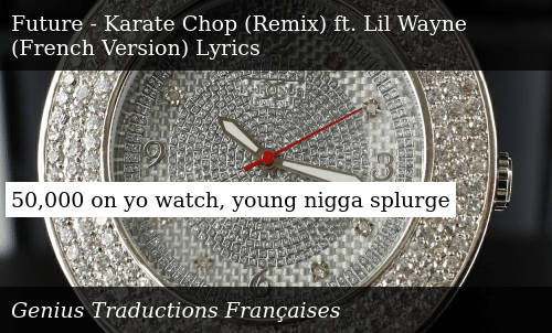 50000 on Yo Watch Young Nigga Splurge | Donald Trump Meme on