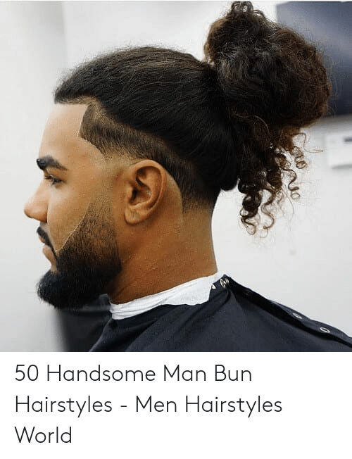 Awesome 50 Handsome Man Bun Hairstyles Men Hairstyles World Man Bun Natural Hairstyles Runnerswayorg