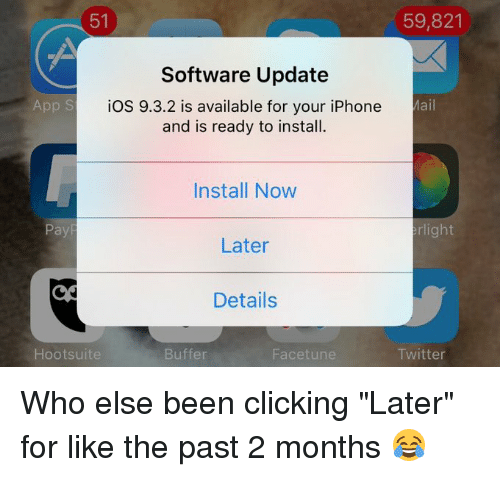 Click Funny And Iphone 51 59821 Software Update IOS 932 Is