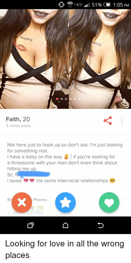Just looking to hookup
