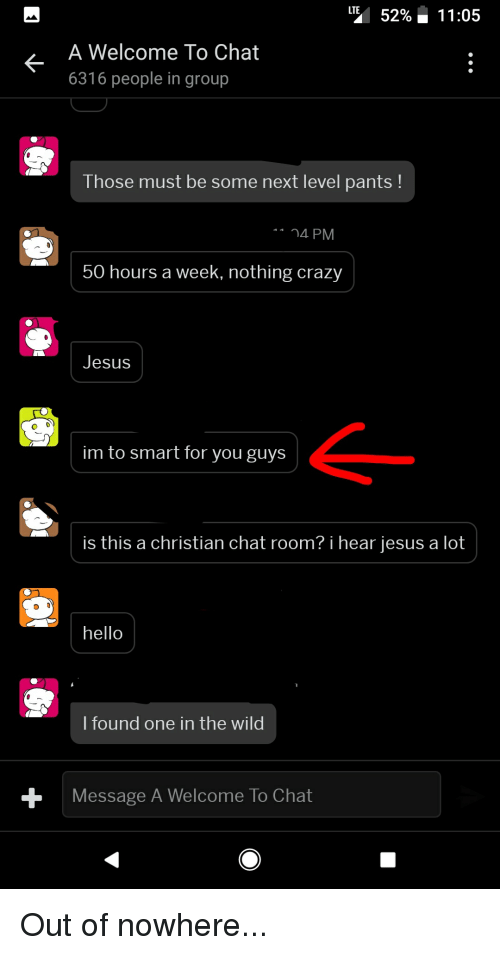 A christian chat room