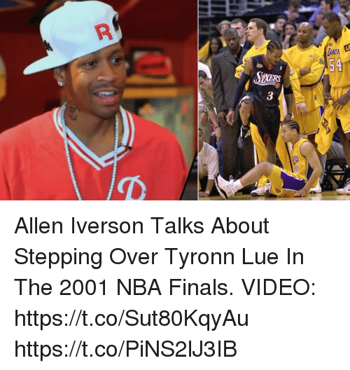 54 3 R Allen Iverson Talks About Stepping Over Tyronn Lue in the ... 4a619c0ed