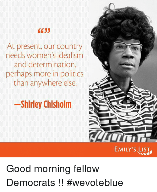 the political career of shirley chisholm the first black female elected to the united states congres Her pursuit to run for president of the united states made her the first major-party black candidate and the first woman to run for democratic nomination unfortunately, shirley chisholm didn't make it past the primary elections however, in later years she remained politically active and returned to congress.