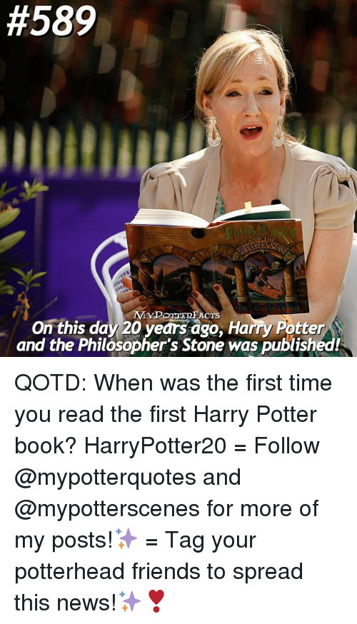 Harry Potter Books Year Published : Best memes about harry potter and the philosophers