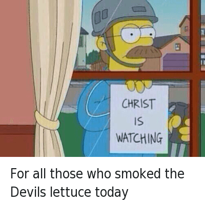 Christ Is Watching