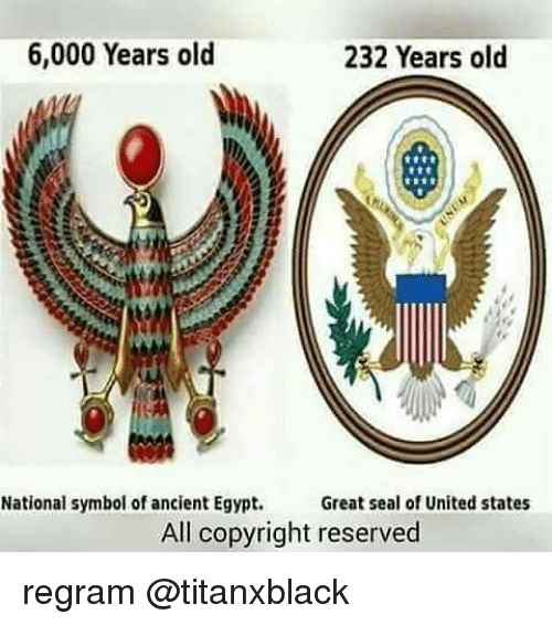 6000 Years Old 232 Years Old National Symbol Of Ancient Egypt Great