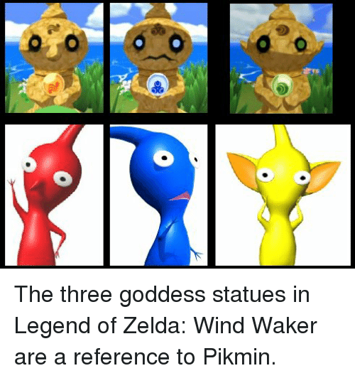 6 Db the Three Goddess Statues in Legend of Zelda Wind Waker Are a