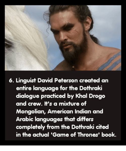 6 Linguist David Peterson Created an Entire Language for the