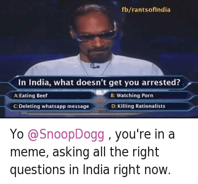 Yo @SnoopDogg , you're in a meme, asking all the right questions in India right now. : @VishalDadlani  Yo @SnoopDogg , you're in a meme, asking all the right questions in India right now. Yo @SnoopDogg , you're in a meme, asking all the right questions in India right now.