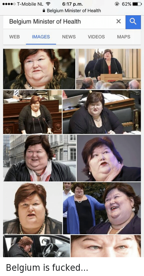 Belgium Minister Of Health