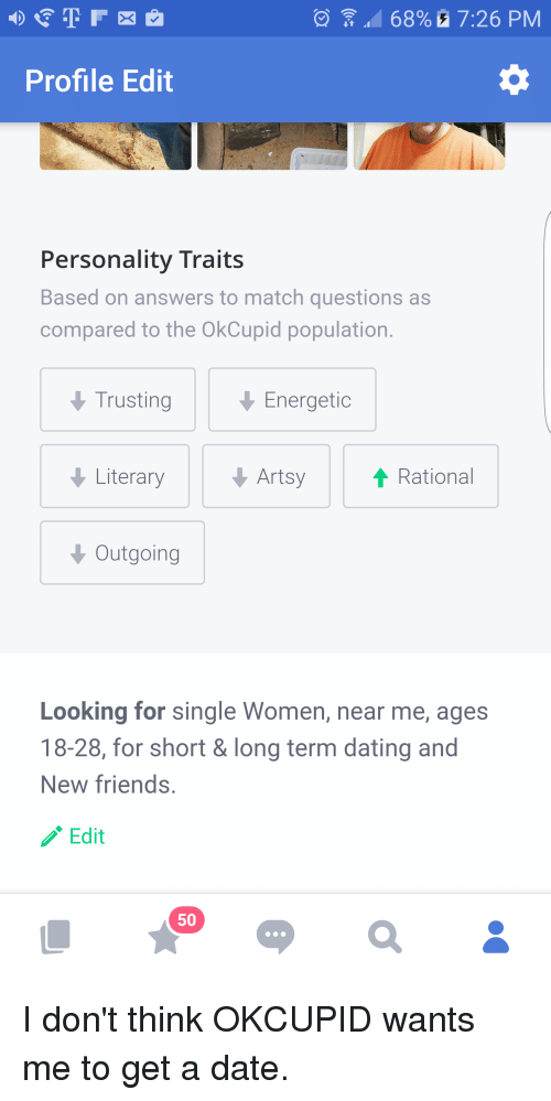 funny dating profile answers