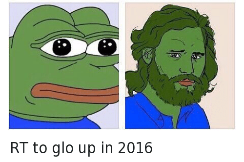 RT to glo up in 2016: @MrLawson  RT to glo up in 2016 RT to glo up in 2016