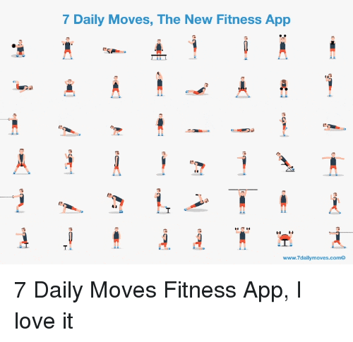 Daily moves