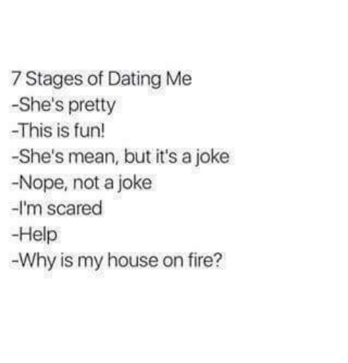 Stages of a dating