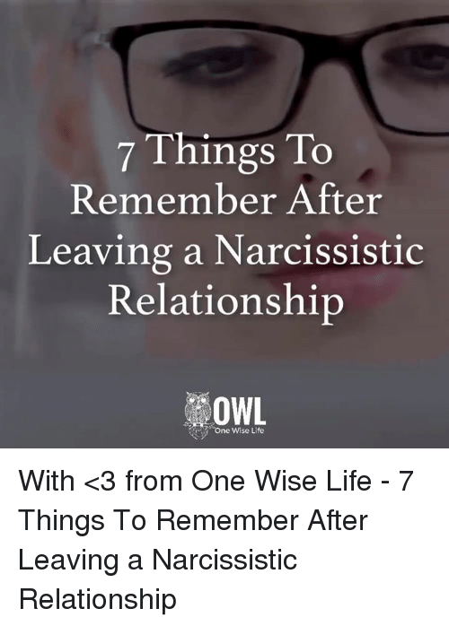 How To Deal With A Narcissist After The End Of A