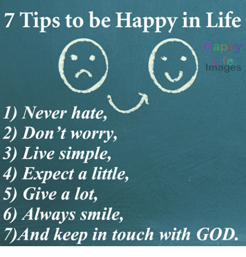4 tips how dont worry and become happy