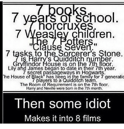 Memes Quidditch And 7 Years Of School Or Cruxes Ildren Ters