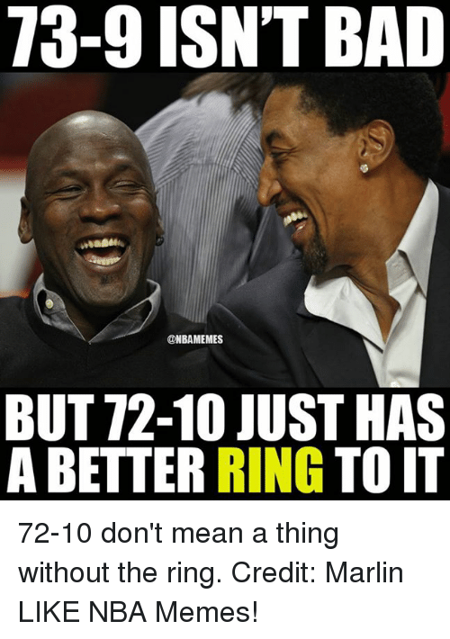 Don T Mean A Thing Without The Ring