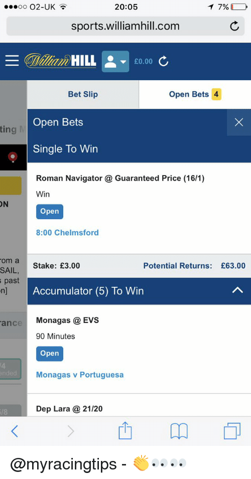 77% Oo O2-Uk HILL Bet Slip Open Bets Ting Single to Win Win