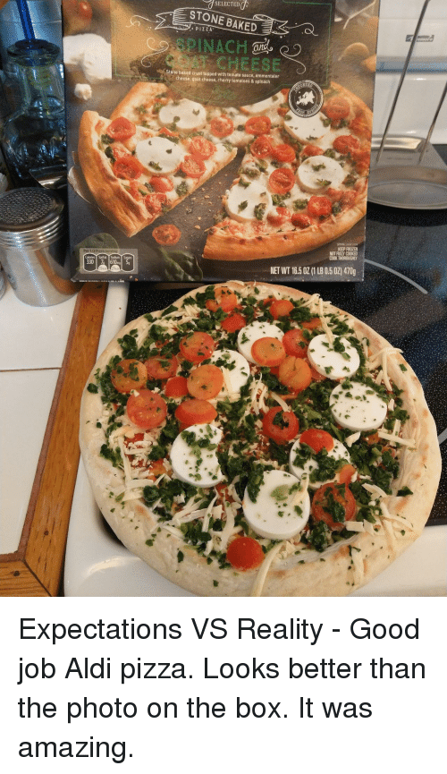 7selected Stone Baked Pizza Spinach Stone Baked Crust Topped