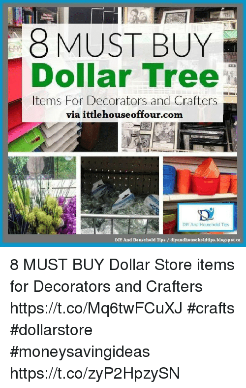 8 MUST BUY Dollar Tree Items for Decorators and Crafters via