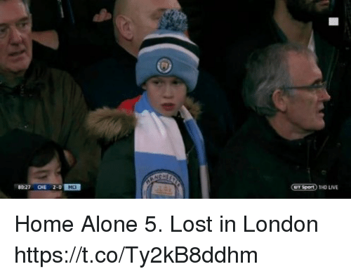 Being Alone, Home Alone, and Memes: 80-27 CHE 2-0