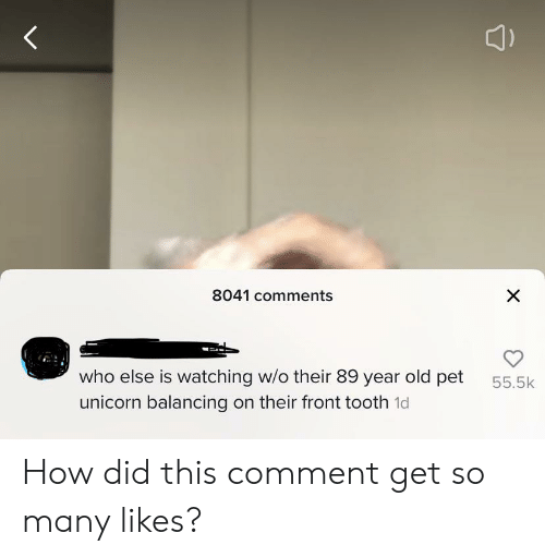 8041 Comments X Who Else Is Watching Wo Their 89 Year Old