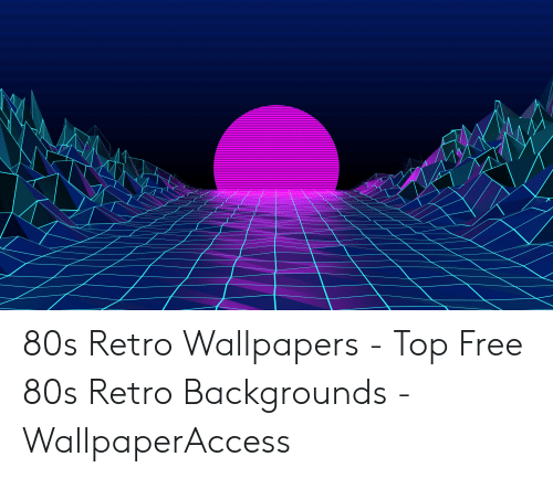 80s Retro Wallpapers - Top Free 80s Retro Backgrounds