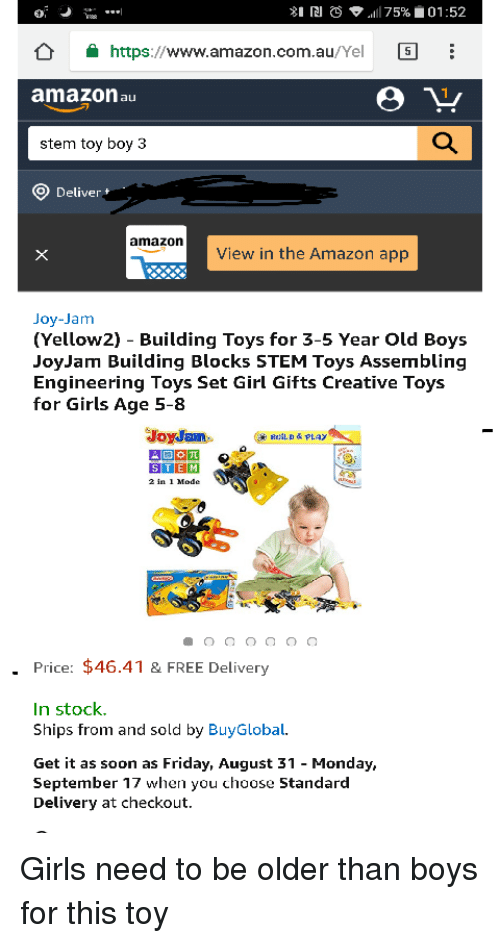 54f153aed8a 81 RI S Alli 75% 0152 httpswwwamazoncomauYel I Amazon Au Stem Toy ...
